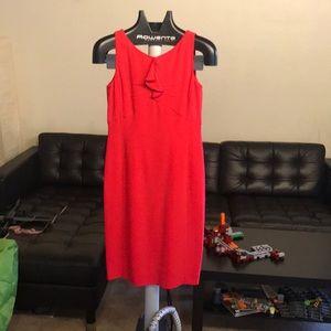 Armani pink midi dress size 42 / M